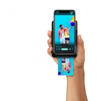 Câmara de impressão instantânea LifePrint para iPhone - Preto