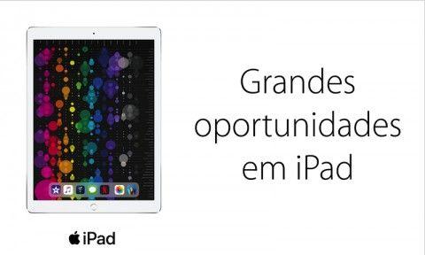 oportunidades em iPad