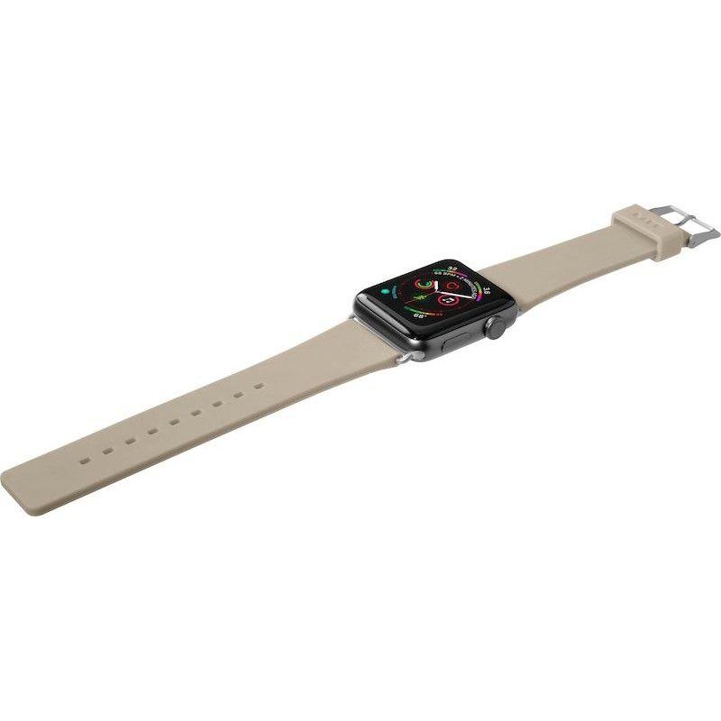 Bracelete para Apple Watch Laut Active, 44/42mm - Castanho Toupeira