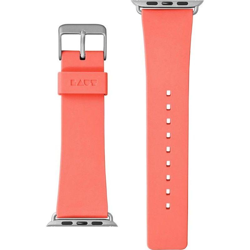 Bracelete para Apple Watch Laut Active, 44/42mm - Coral