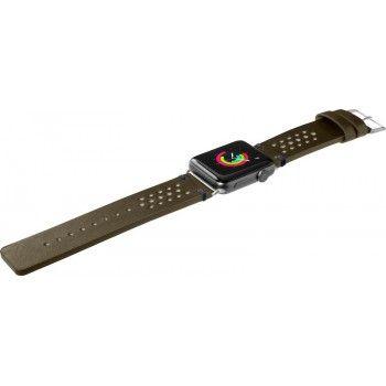 Bracelete para Apple Watch Laut Heritage, 44/42mm - Verde Oliva