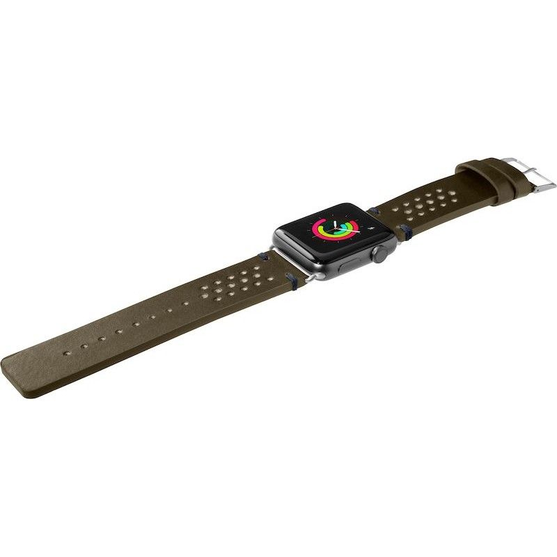 Bracelete para Apple Watch Laut Heritage, 40/38mm - Verde Azeitona