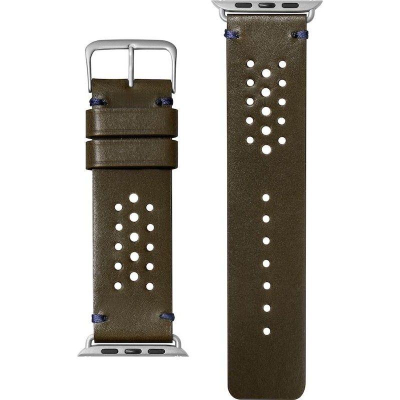 Bracelete para Apple Watch Laut Heritage, 40/38mm - Verde Azeitona