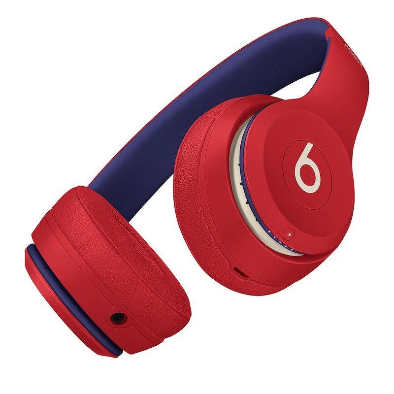 Auscultadores Beats Solo3 Wireless Club Collection - Vermelho Disco