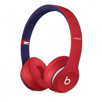 Auscultadores Beats Solo3 Wireless - Beats Club Collection - Vermelho Disco