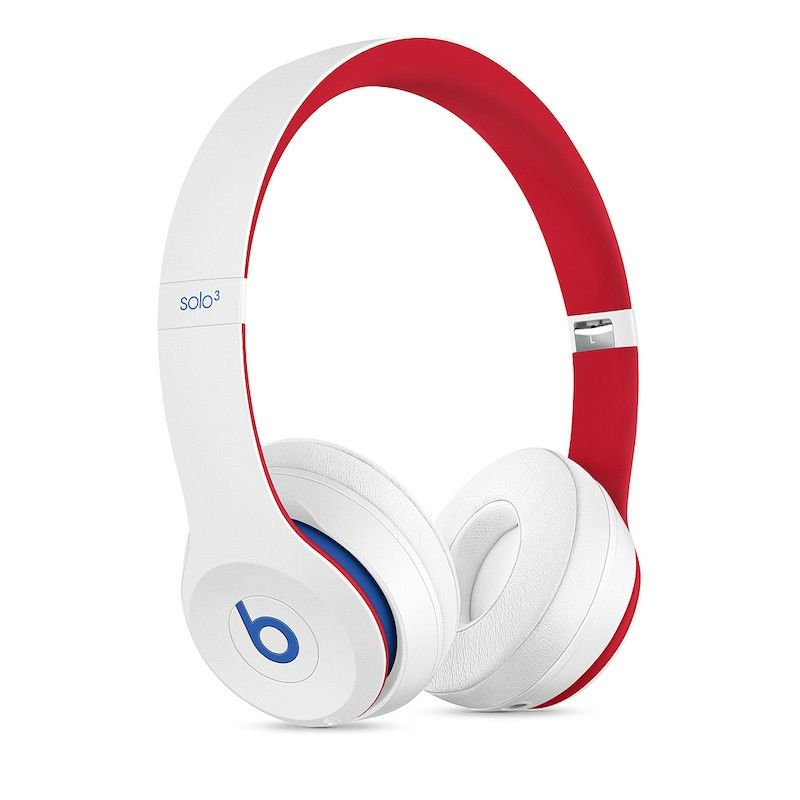 Auscultadores Beats Solo3 Wireless - Beats Club Collection - Branco Disco