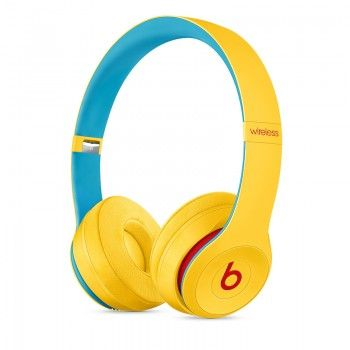 Auscultadores Beats Solo3 Wireless Club Collection - Amarelo Disco