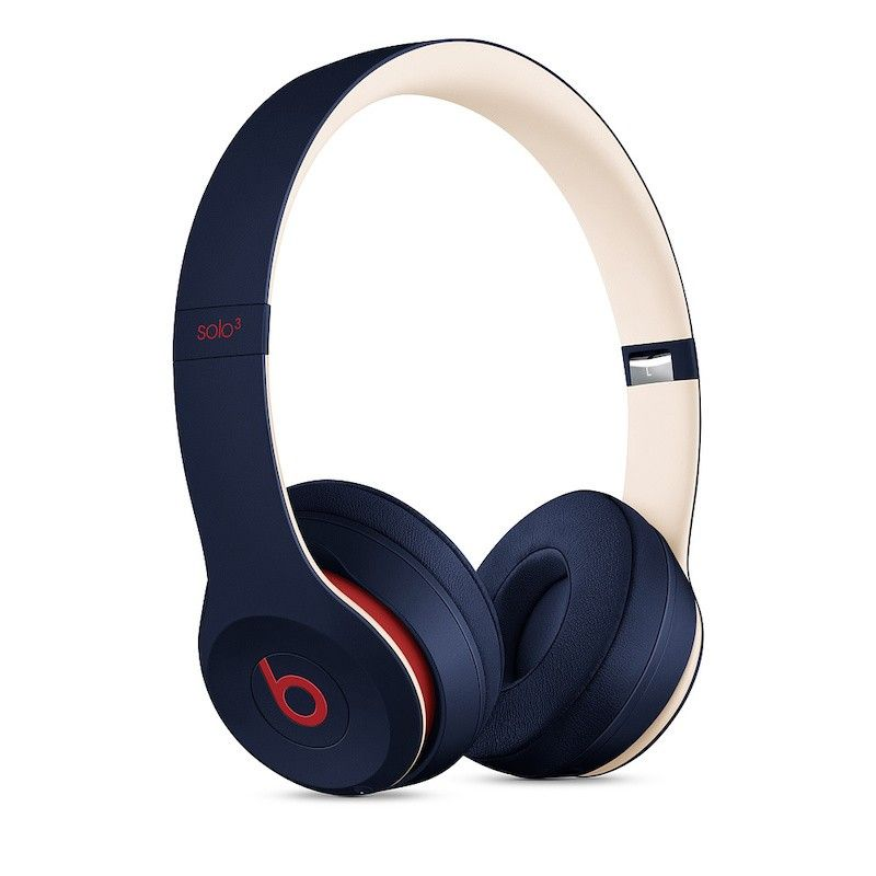 Auscultadores Beats Solo3 Wireless Club Collection - Azul-marinho Disco