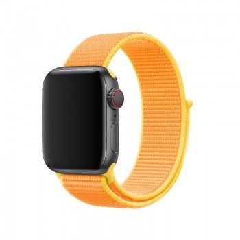 Bracelete Loop desportiva para Apple Watch (40/38 mm) - Amarelo Canário