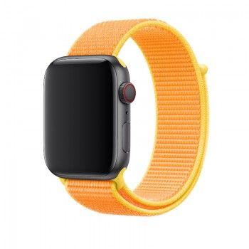 Bracelete Loop desportiva para Apple Watch (44/42 mm) - Amarelo Canário