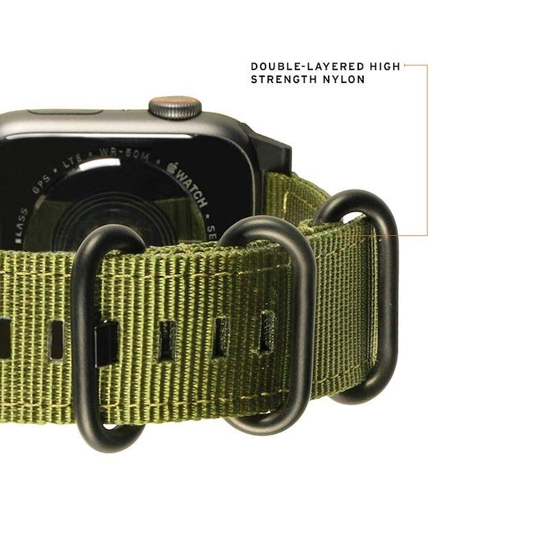 Bracelete para Apple Watch UAG Nato (44/42mm) - Verde Oliva