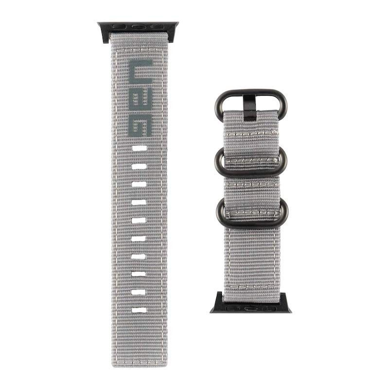 Bracelete para Apple Watch UAG Nato 42 a 45 mm - Cinzenta