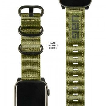 Bracelete para Apple Watch UAG Nato (44/42mm) - Verde Oliva
