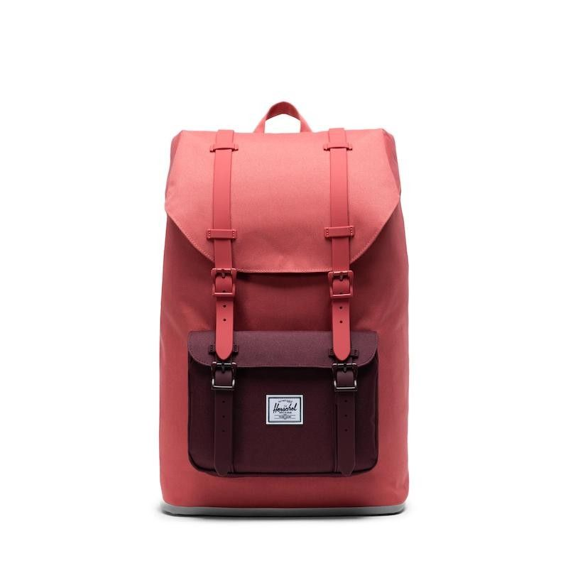 Mochila Herschel Little America Mid-Volume - Mineral Red