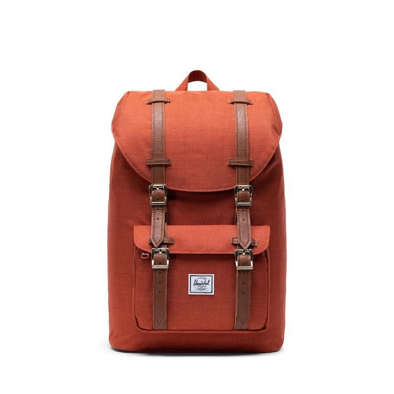 Mochila Herschel Little America Mid Vol. (17L) - Picante Crosshatch