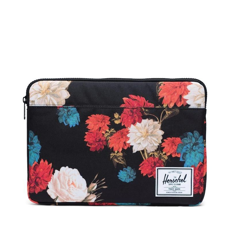 "Sleeve Herschel Anchor for MacBook Pro 13"" - Vintage Floral"