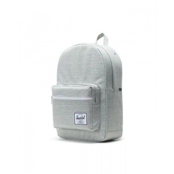Mochila Herschel Pop Quiz - Light Grey Crosshatch
