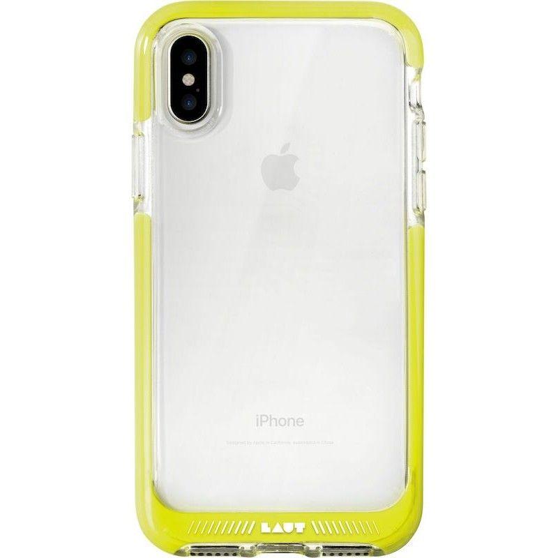 Capa de excelente proteção para iPhone X/XS - Amarelo