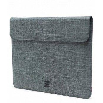 """Sleeve Herschel Spokane MacBook 13"""" USB-C - Raven Crosshatch"""