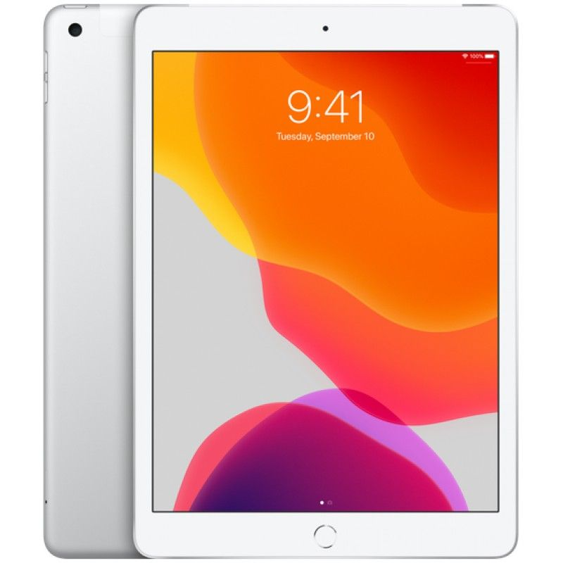 "iPad 10.2"" Wi-Fi + Cellular 128GB - Prateado"