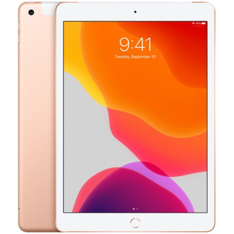 "iPad 10.2"" Wi-Fi + Cellular 128GB - Dourado"
