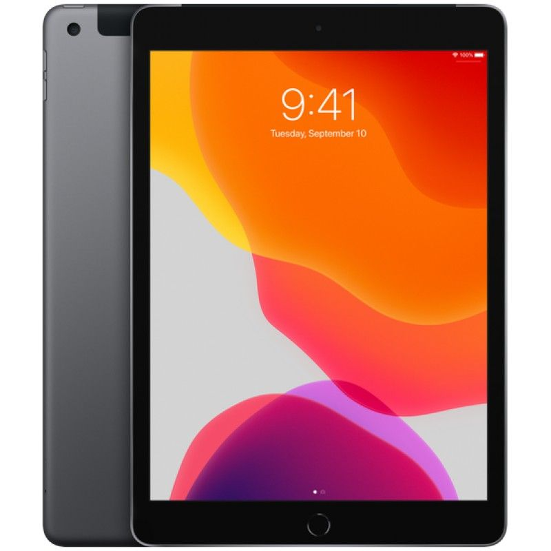 "iPad 10.2"" Wi-Fi + Cellular 32GB - Cinzento Sideral"