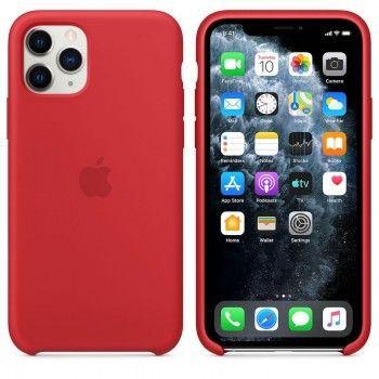 Capa para iPhone 11 Pro em silicone - Vermelho (PRODUCT RED)