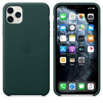 Capa em pele para iPhone 11 Pro Max - Verde Floresta