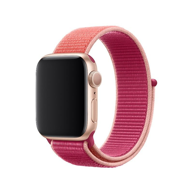 Bracelete desportiva Loop para Apple Watch (40/38 mm) - Romã