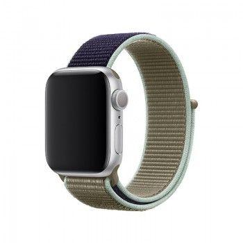 Bracelete desportiva Loop para Apple Watch (40/38 mm) - Caqui
