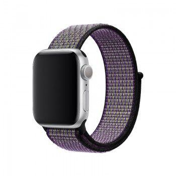 Bracelete desportiva Nike Loop para Apple Watch (40/38 mm) - Areia do deserto volt