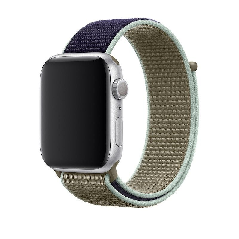 Bracelete desportiva Loop para Apple Watch (44/42 mm) - Caqui