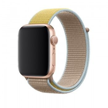 Bracelete desportiva Loop para Apple Watch (44/42) mm) - Camel