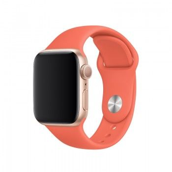 Bracelete desportiva para Apple Watch (40/38 mm) - Clementina (laranja)
