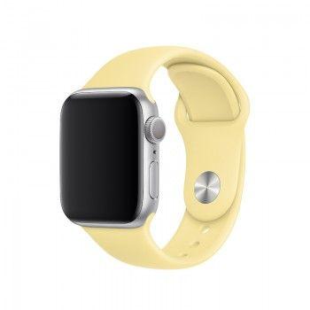 Bracelete desportiva para Apple Watch (40/38 mm) - Creme de limão