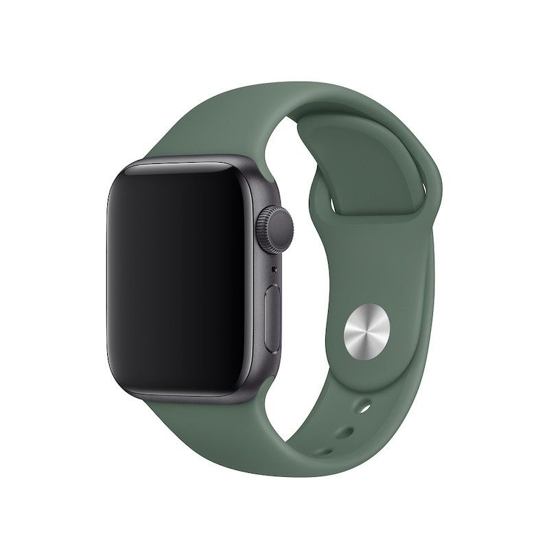Bracelete desportiva para Apple Watch (40/38 mm) S/M & M/L - Verde pinheiro