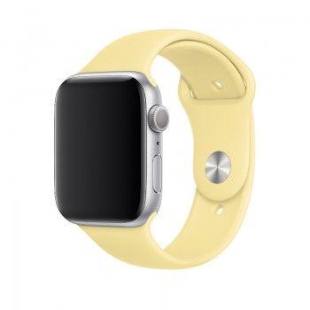Bracelete desportiva para Apple Watch (44/42 mm) S/M & M/L - Creme de limão