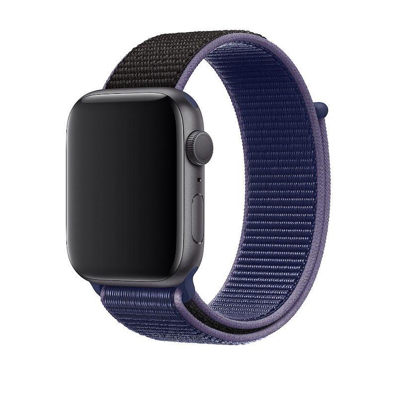 Bracelete desportiva Loop para Apple Watch (44/42 mm) - Azul meia-noite