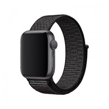 Bracelete Loop desportiva para Apple Watch 38 a 41 mm - Preto