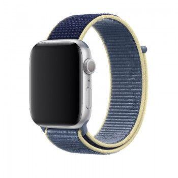 Bracelete desportiva Loop para Apple Watch (44/42 mm) - Azul Alasca