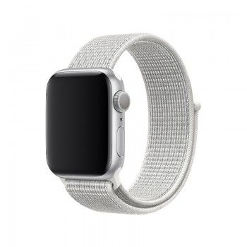 Bracelete desportiva Nike Loop para Apple Watch (40/38 mm) - Branco-cume