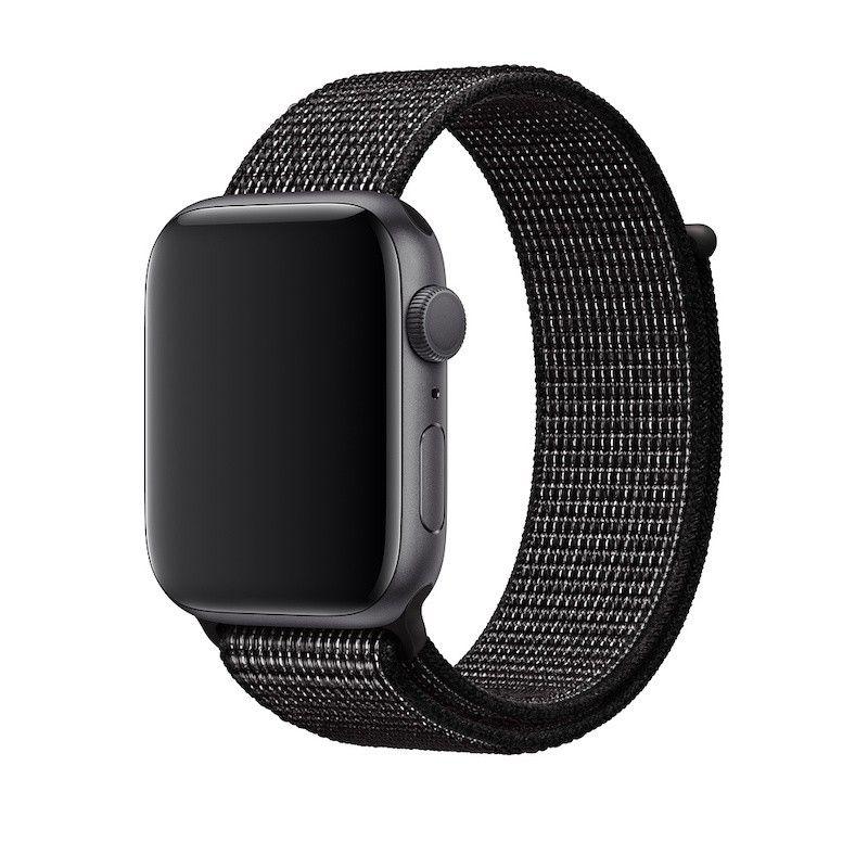 Bracelete desportiva Nike Loop para Apple Watch (44/42 mm) - Preto