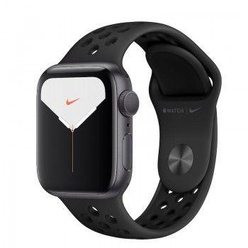 Bracelete desportiva para Apple Watch (40/38 mm) S/M & M/L-  Antracite Preto
