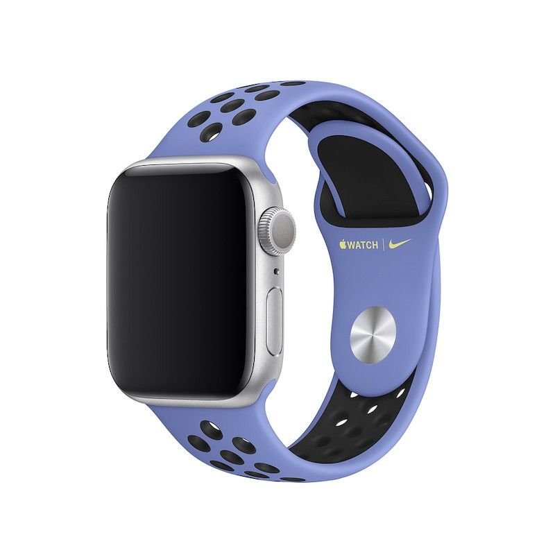 Bracelete desportiva Nike para Apple Watch (40/38 mm) - Azul impulso / preto