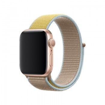 Bracelete Loop desportiva para Apple Watch (40/38 mm) - Camel