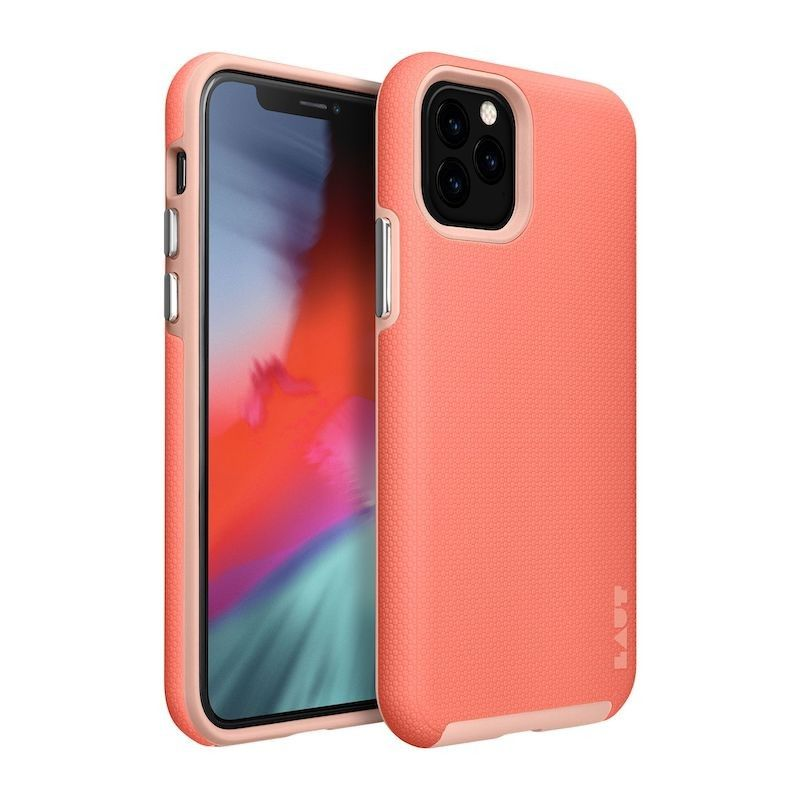 Capa para iPhone 11 Pro Laut Shield - Coral