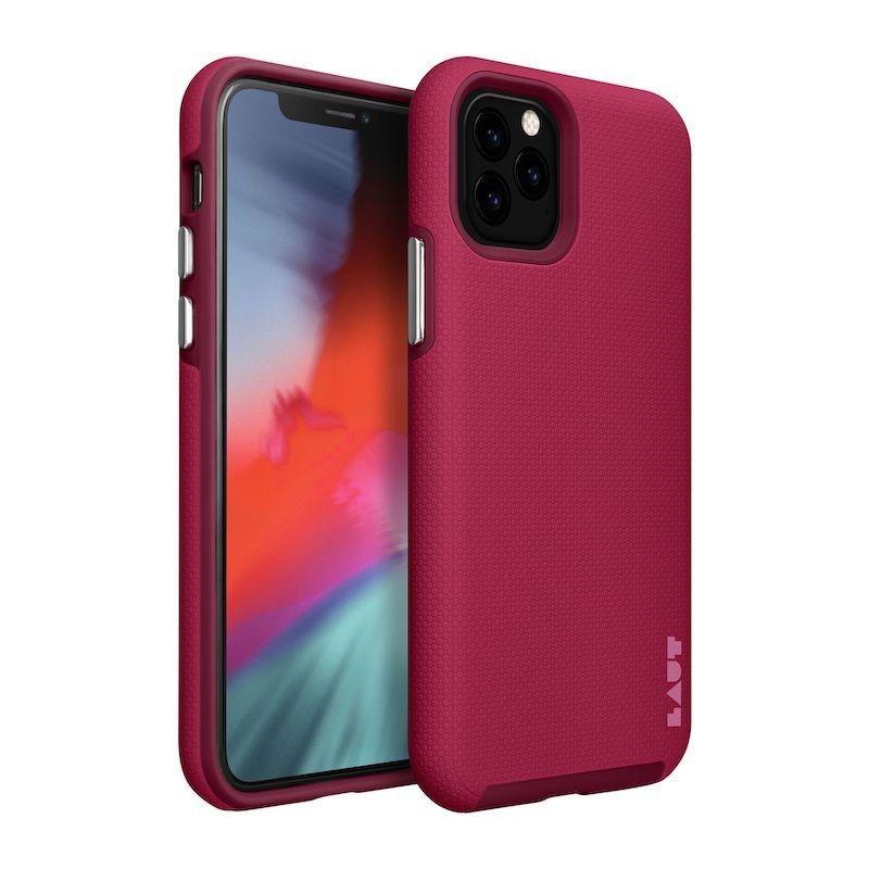 Capa para iPhone 11 Pro Laut Shield - Cereja