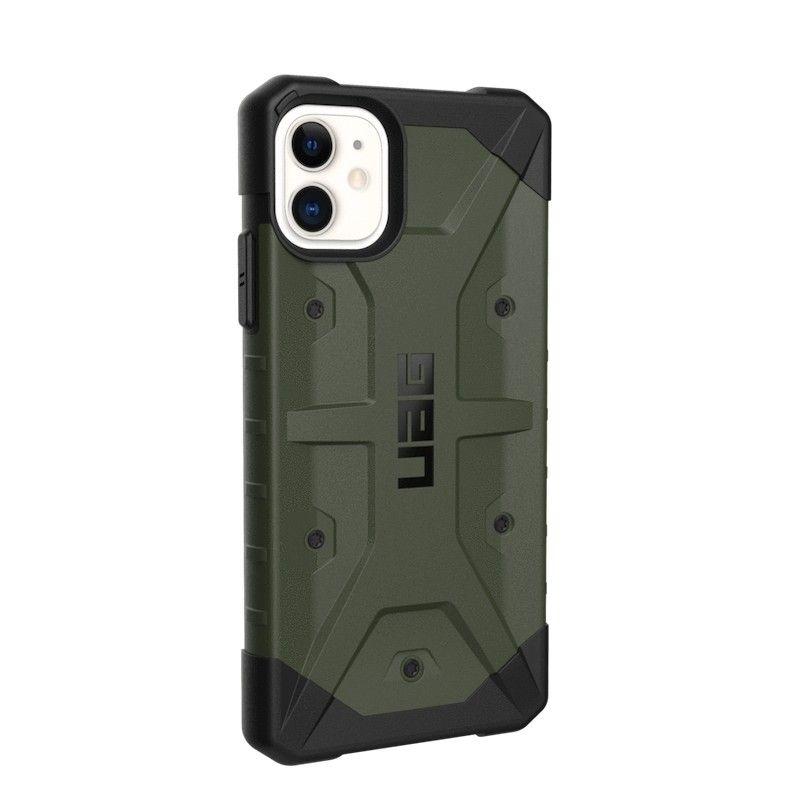 Capa para iPhone 11 UAG Pathfinder - Verde oliva