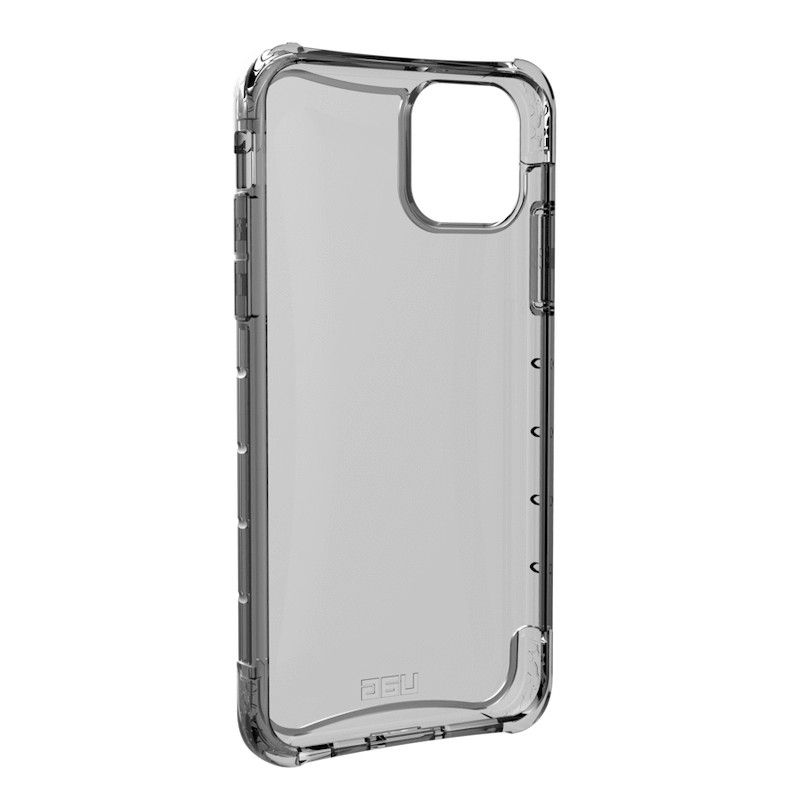 Capa para iPhone 11 Pro Max UAG Plyo - Transparente cinza