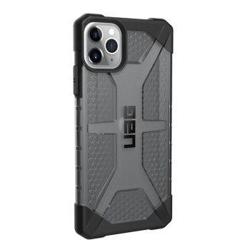 Capa para iPhone 11 Pro Max UAG Plasma - Transparente cinza